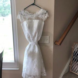 Gorgeous wedding dress size 8
